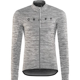 Craft Reel Fietsshirt lange mouwen Heren, dk grey melange/black